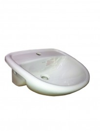 Milano Semi-recessed Basin