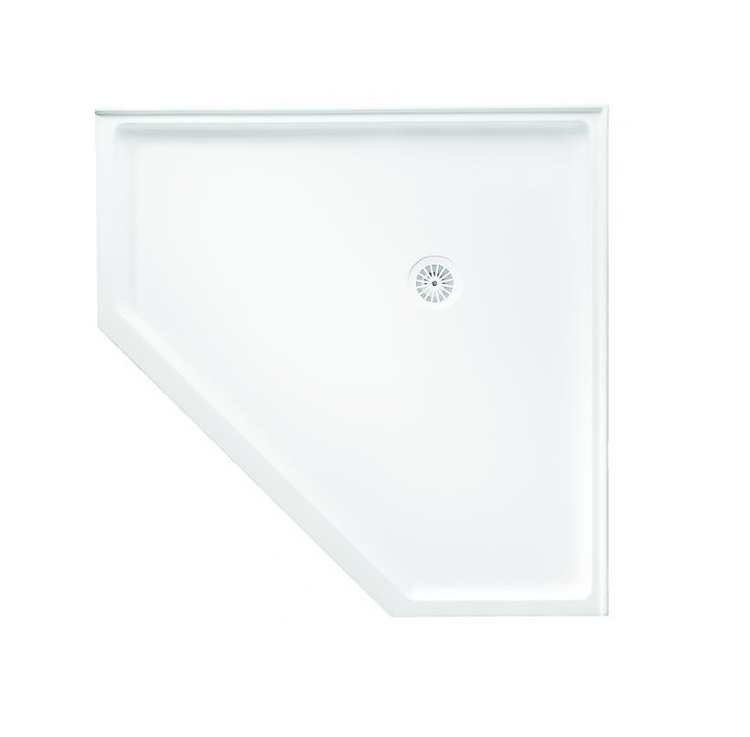 NEO Flinders Marblelite Corner Shower Base ...