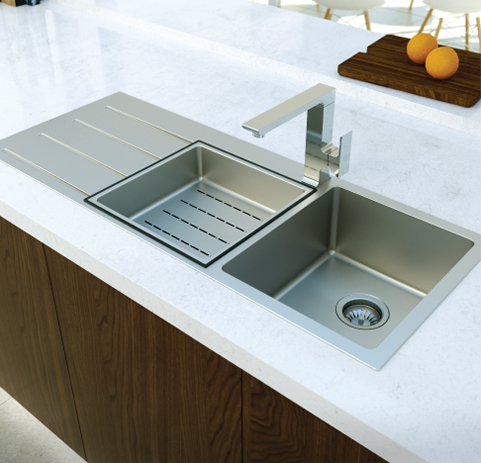Choosing Kitchen Sink Mixers Amp Tapware Quality Tiles And
