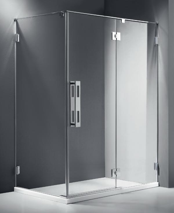 Infinity Frameless Shower Screen 900 Front Panel Quality
